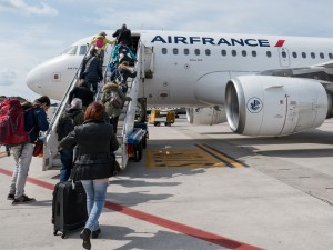 Air France Boarding